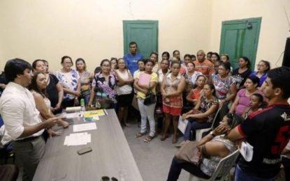 Prefeito de Benedito Leite faz acordo e garante salário da educação