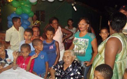 Guadalupense Izídia Maria, completará 112 anos na próxima quinta-feira (26).