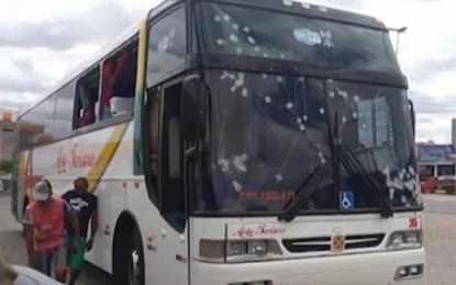 Ônibus de turismo de Floriano é metralhado em tentativa assalto