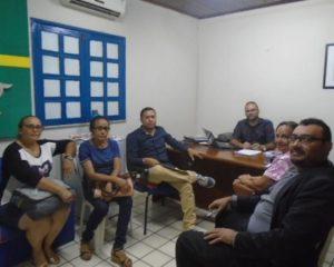 Secretário de Educação de Floriano se reúne com Sindicato dos Professores