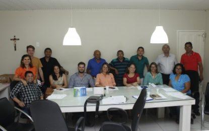 Secretários da prefeitua de Uruçuí se reuniram para leitura do Edital de Recadastramento