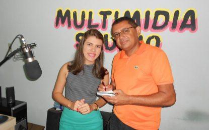 Vereadora Rayanna Noleto fala de projetos e ações para São João dos Patos