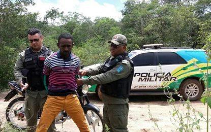 Homem é preso por porte de droga em estrada vicinal de Floriano