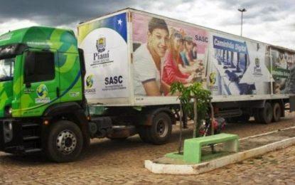 Zé Santana viabiliza projeto Caminhão Digital para Uruçuí