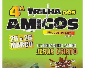 4ª Trilha dos Amigos em Uruçuí será neste final de semana