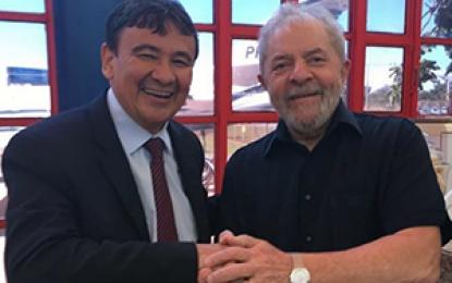 W.Dias posa com Lula e avisa que o ex-presidente prepara visita ao Piauí