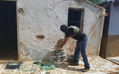 Polícia Militar estoura boca de fumo e apreende 16 kg de maconha em Picos