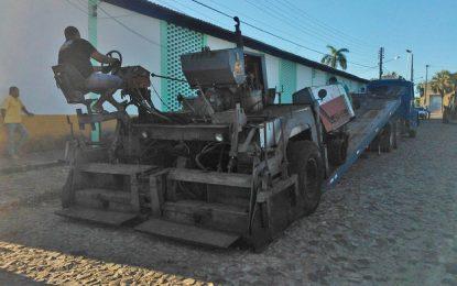 Guadalupe, Marcos Parente, Landri Sales, Porto Alegre, Antônio Almeida e Jerumenha ganharão 2.600 metros de asfalto, afirma STRANS