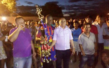 Marcoense Esporte Clube é campeão do campeonato de futebol em Marcos Parente