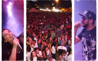 Prefeitura de Marcos Parente realiza show com Gil Mendes e Romim Mata em praça pública nos festejos da padroeira