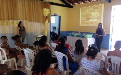 Prefeitura de Marcos Parente realiza atividade de incentivo ao aleitamento materno