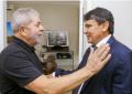 Lula diz que Wellington Dias é gênio da política e o indica como presidenciável