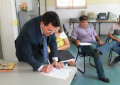 Zé Santana assina ordem de serviço para reforma na Casa dos Conselhos