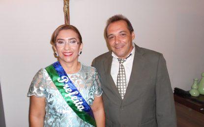 Prefeita Neidinha e o vice Edivan Miranda são empossados em Guadalupe
