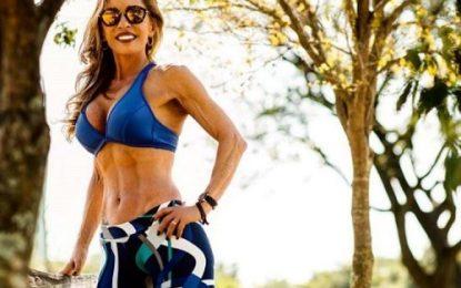 Aposentada e mãe se torna musa fitness aos 60 anos; conheça