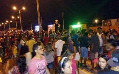 Arrastão dos Paredões marca o 3º dia de Carnaval em Floriano