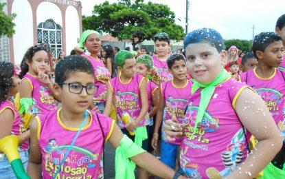 Bloco Mulekda faz arrastão até o Corredor da Folia no carnaval de Guadalupe