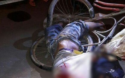 Ciclista morre atropelado por carreta bitrem no interior do Piauí