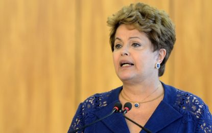 Dilma diz que pode se candidatar para senadora ou deputada