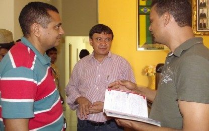 Wellington Dias convida o Portal Cidade Luz para posses na SASC e DER