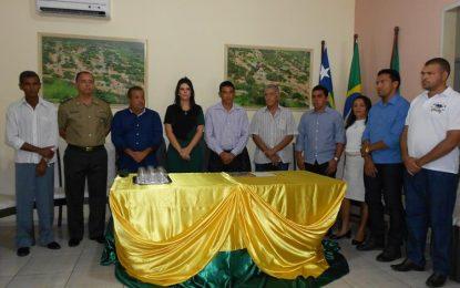 Prefeita Aldara toma posse como presidente da Junta Militar de Jerumenha