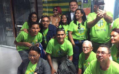 Silas Freire apóia luta por reajuste salarial de agentes de saúde e endemias
