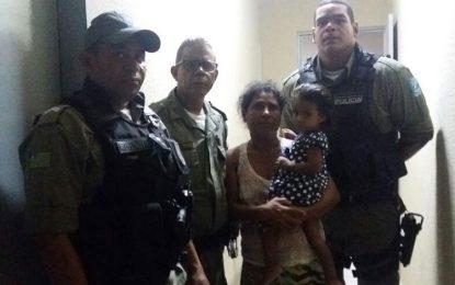 Mulher oferece lanche para sequestrar criança de dois anos em Picos