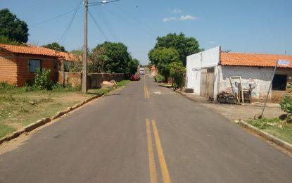 Governo conclui calçamento e asfalto em Amarante