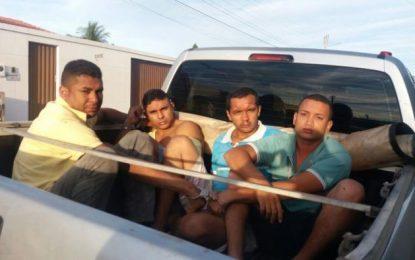 Presa em Canto do Buriti quadrilha suspeita de roubar bancos no Piauí