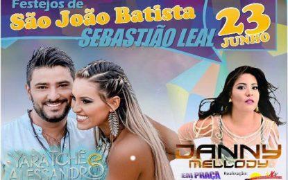Sebastião Leal divulga atrações dos Festejos de São João Batista