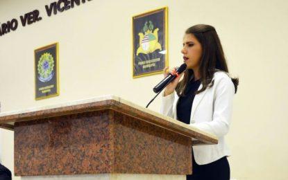 Vereadora Rayana Noleto ganha destaque na política de São João dos Patos