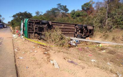 Tragédia: Acidente envolvendo ônibus deixa vários mortos