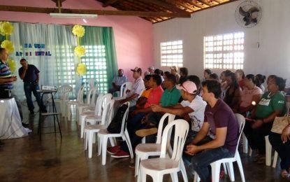 Marcos Parente sedia capacitação de saúde feita pela da 10ª Regional de Floriano