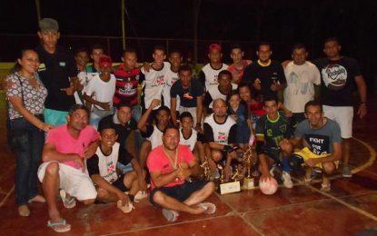 Cruz de Malta vence I Torneio de Futsal da Escolinha Show de Bola de Guadalupe