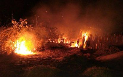 Incêndio na Rua Inácio Gonçalves em Guadalupe quase termina em tragédia
