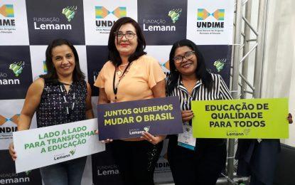 Educação de Marcos Parente é representada no Fórum Nacional em Fortaleza