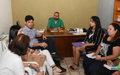 Saúde e Educação de Floriano discutem calendário do Programa Saúde na Escola