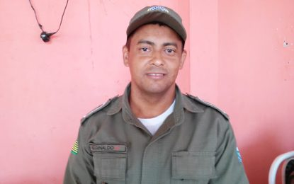 Comandante da 2ª CPM\10°BPM de Guadalupe explica ocorrência do veículo aprendido em Floriano