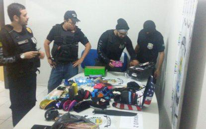 Civil realiza operação contra tráfico de drogas em Floriano