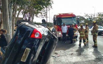 Filho de Michel Temer sofre acidente de carro em Brasília