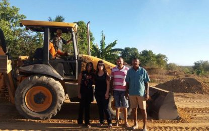 Prefeitura de Jerumenha realiza mutirão de limpeza em Barra do Lance