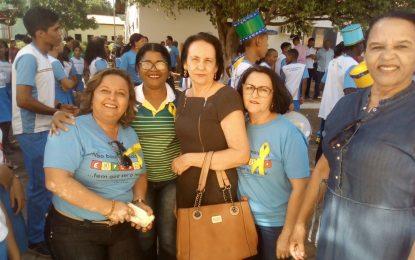 Desfile cívico, em alusão a Independência do Brasil, é realizado em Marcos Parente