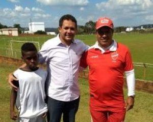 O landrisalense Kauê, já está em Goiânia para se apresentar no Vila Nova-FC