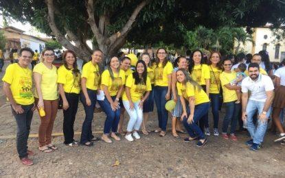 Landri Sales realiza caminhada em alusão à campanha Setembro Amarelo