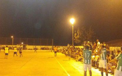 Começou em Marcos Parente o I Campeonato de Futsal de Veteranos