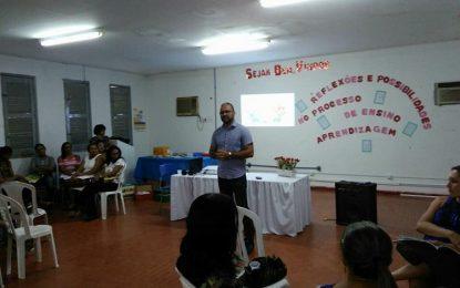 Secretaria de Educação de Floriano realiza formação para professores da zona rural