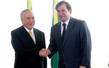 Não fiz com o PMDB o que eles fizeram com Dilma, diz Rodrigo Maia