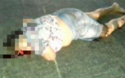 Idosa morre após ser atropelada por moto em Floriano