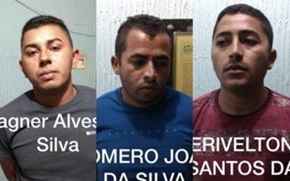 Quadrilha é presa com posse ilegal de arma e em carro roubado em Acauã
