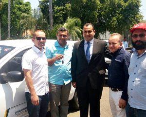 Jaicós recebe veículo novo para o escritório da Emater